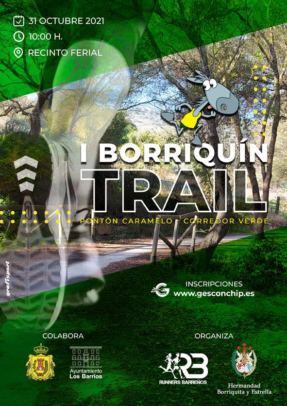 I Carrera Borriquín Trail Villa de Los barrios