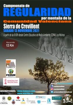 Campeonato Regularidad por Montaña de la Comunidad Valenciana Sierra de Crevillent