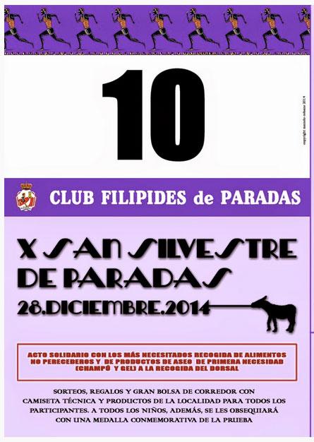Carrera X San Silvestre de Paradas