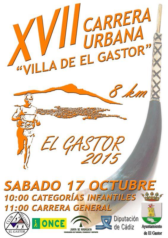 Carrera XVII Carrera Urbana Villa de El Gastor