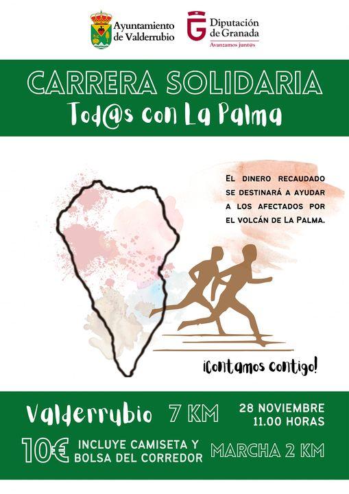 Carrera Solidaria Todos con La Palma Valderrubio