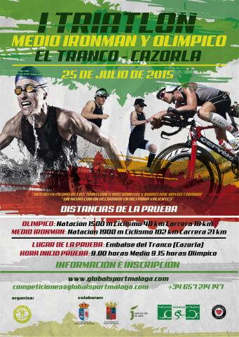 Carrera I Triatlon Medio Ironman El Tranco - Cazorla