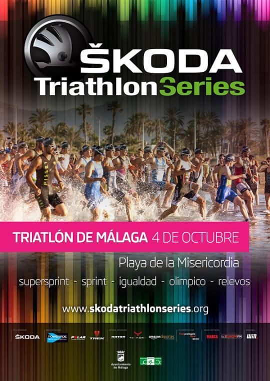 Carrera VI Triatlón de Málaga