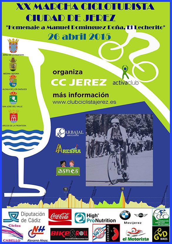 Carrera XX Marcha Cicloturista Ciudad de Jerez