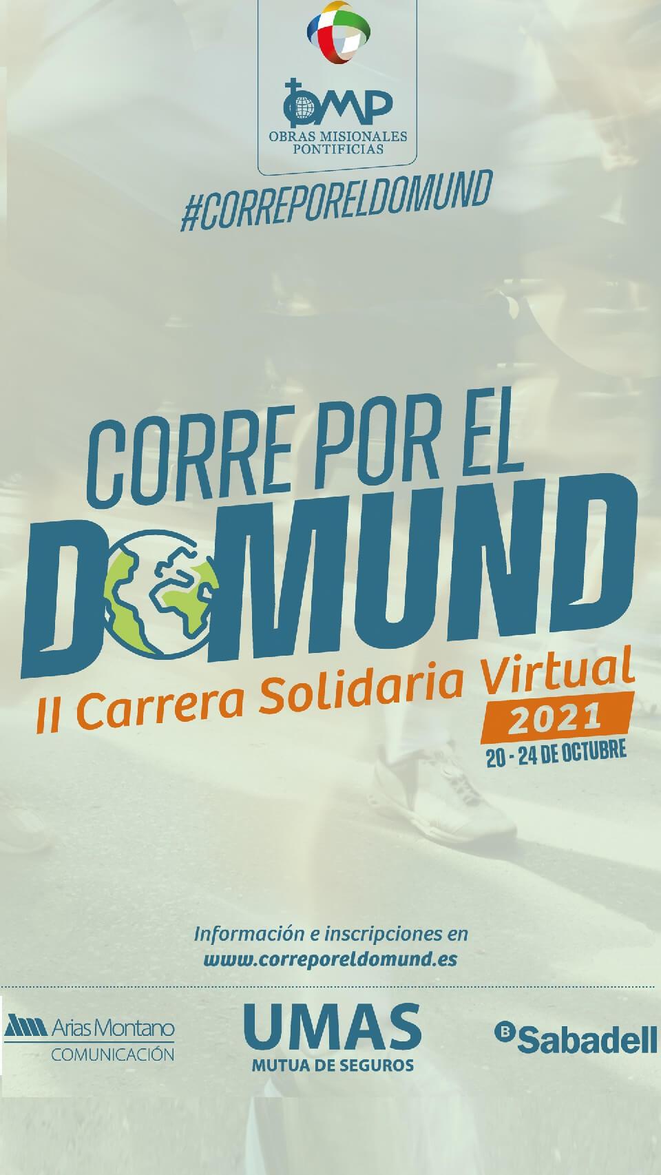 II Carrera Virtual Corre por el Domund
