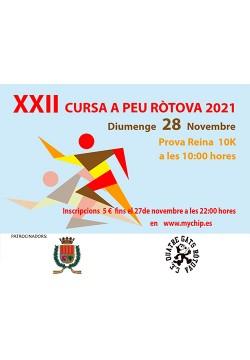 XXII Cursa Popular a Peu – Ròtova