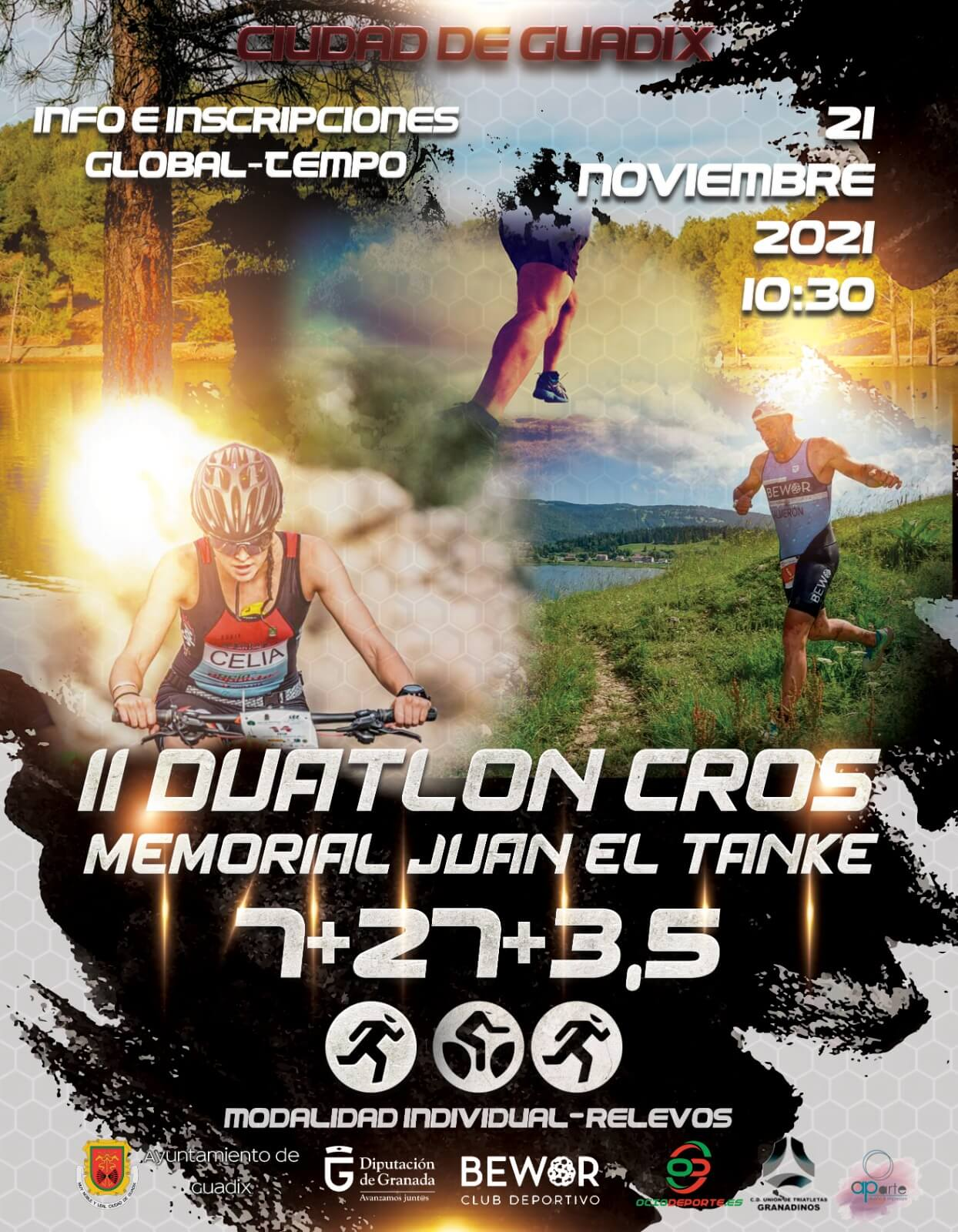 II Duatlón Cros de Guadix - Memorial Juan el Tanke
