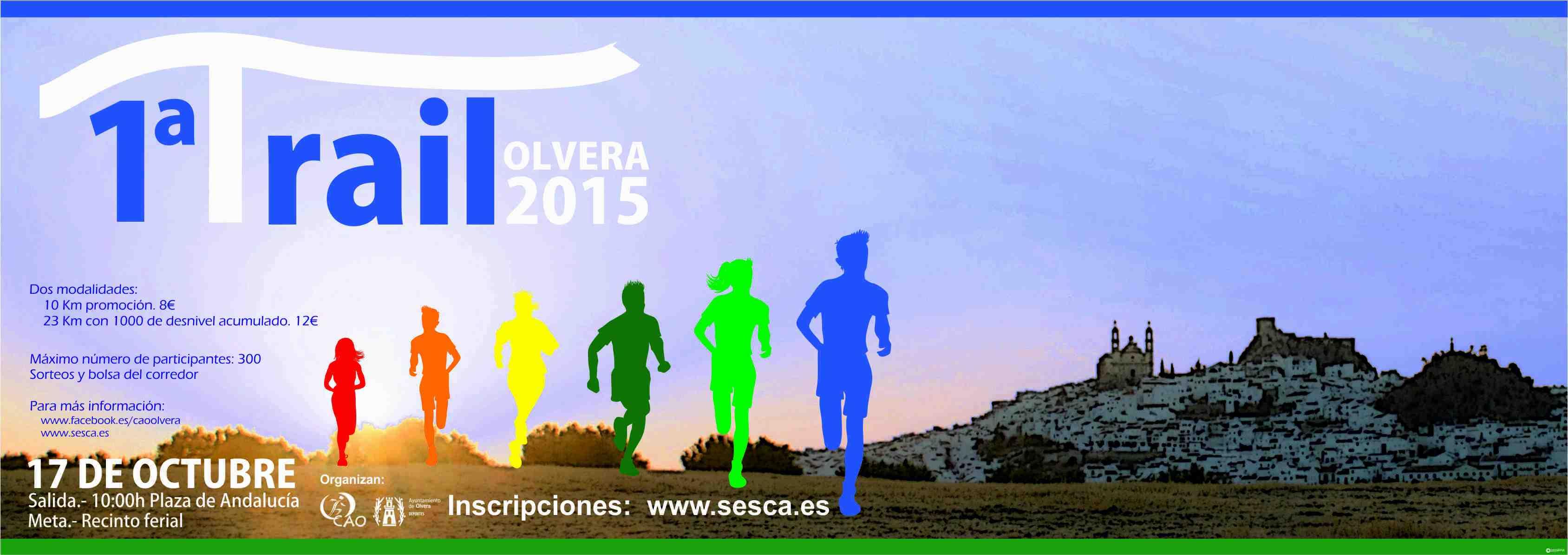 Carrera I Trail Olvera