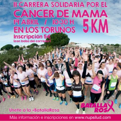 Carrera II Carrera por el cáncer de mama