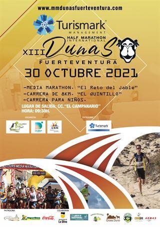XIII Media Marathon Internacional Turismark Dunas de Fuerteventura