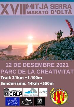 XVII Mitja Marató Serra d Oltà