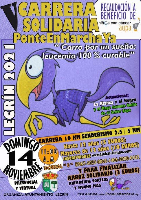 V Carrera Solidaria PonteEnMarchaYa