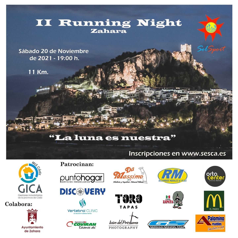 II Running Night Zahara