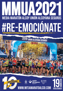 X Mitja Marató Unión Alcoyana Seguros
