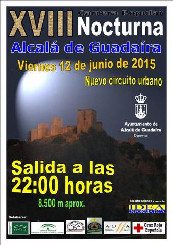 Carrera XVIII Carrera Popular Nocturna Alcalá de Guadaíra