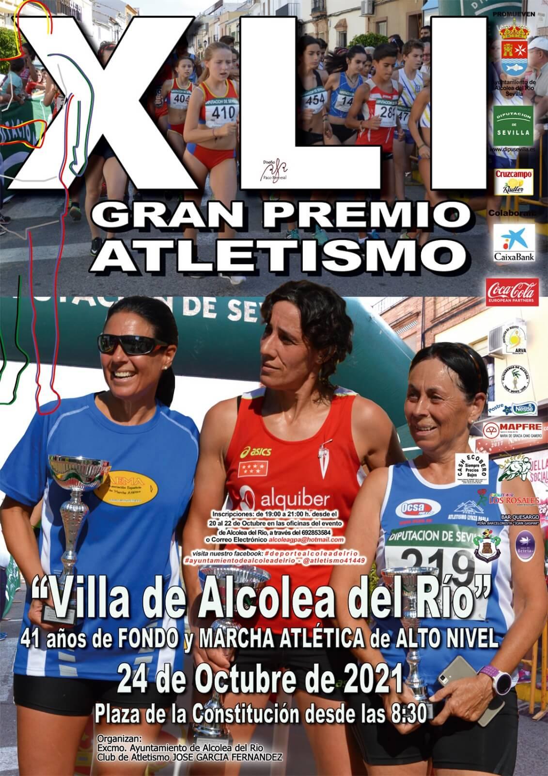 XLI Gran Premio Atletismo Villa de Alcolea del Río