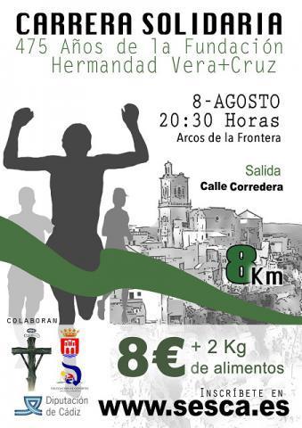 Carrera Carrera Solidaria 475 años Hermandad Vera Cruz
