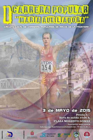 Carrera I Carrera Popular María Auxiliadora Arcos
