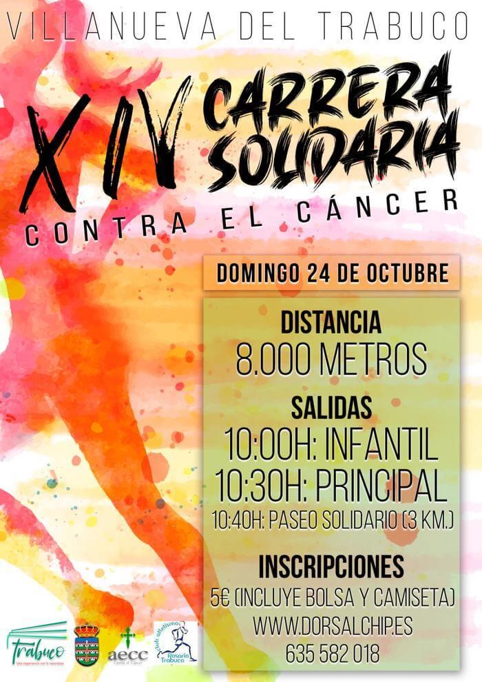 XIV Carrera Solidaria Contra el Cáncer