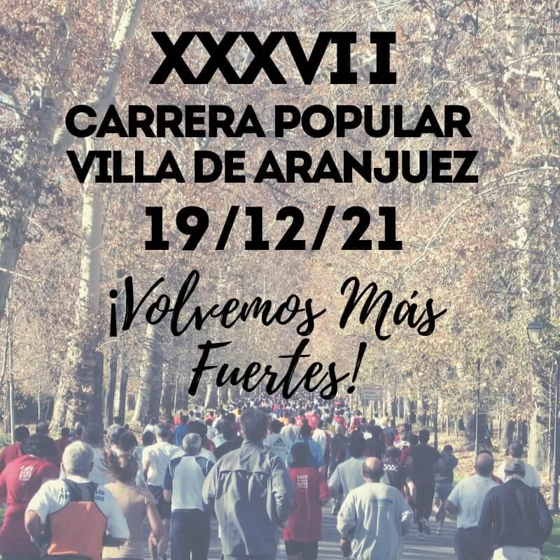 XXXVI Carrera Popular Villa de Aranjuez
