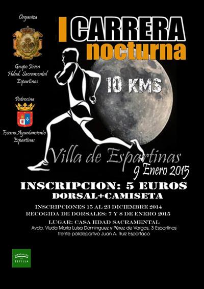 Carrera I Carrera Nocturna Villa de Espartinas