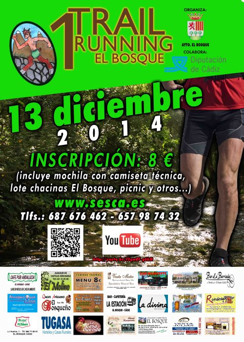 Carrera I Trail Running El Bosque