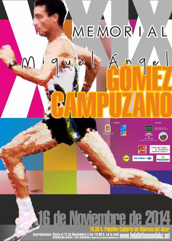 Carrera XIX Memorial Miguel Angel Gómez Campuzano