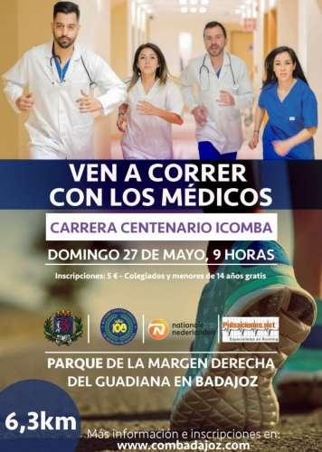 Carrera Centenario Icomba Ven a correr con los médicos