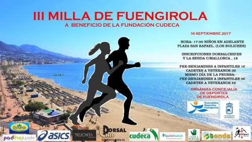 III Milla de Fuengirola a Beneficio de Cudeca