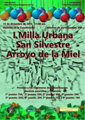 I Milla Urbana San Silvestre Arroyo de la Miel