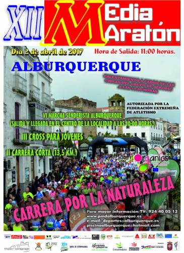 XII Media Maratón Alburquerque