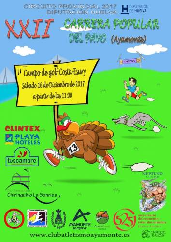 XXII Carrera Popular del Pavo Ayamonte