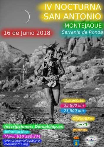 IV Nocturna San Antonio de Montejaque