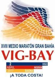 XVIII Medio  Maraton Gran  Bahia Vig-Bay