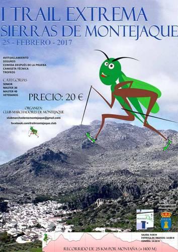 I Trail Extrema Sierras de Montejaque