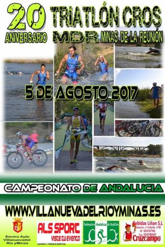 XX Triatlón Cros Minas De La Reunión