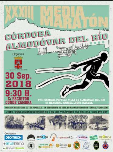 XXXIII Media Maratón Córdoba Almodóvar del Río