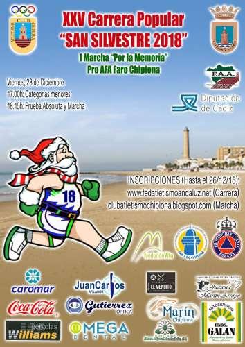 XXV Carrera Popular San Silvestre de Chipiona