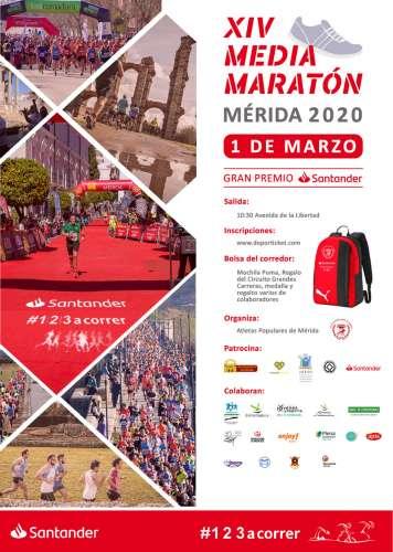 XIV Media Maratón de Mérida