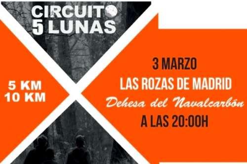 Carrera Solidaria Circuito 5 Lunas – Las Rozas