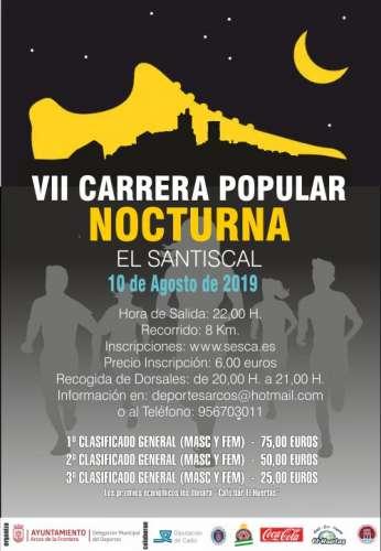 VII Carrera Popular Nocturna El Santiscal