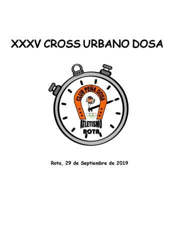 XXXV Cross Urbano Peña Dosa