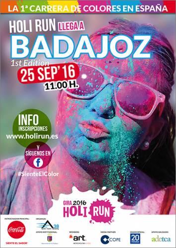 Holi Run Badajoz 2016