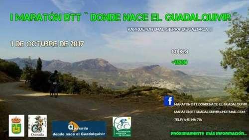I Maratón Btt Donde Nace el Guadalquivir