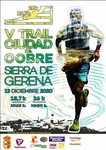 Carrera IV Trail Ciudad del Cobre