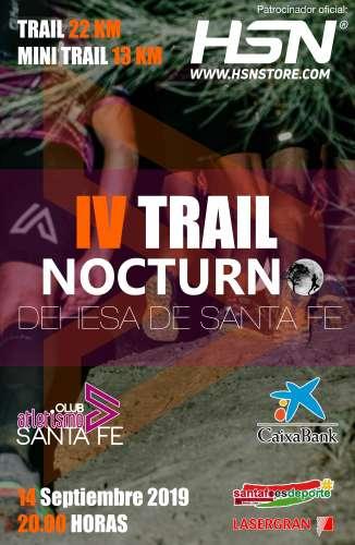 IV Trail Nocturno Dahesa de Santa Fe