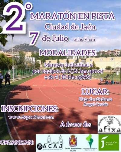 II Maratón en Pista Ciudad de Jaén