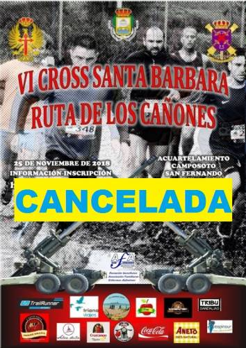 VI Cross Santa Bárbara Ruta de los Cañones