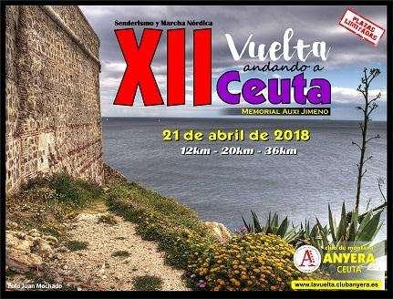 XII Vuelta andando a Ceuta