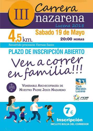 III Carrera Nazarena